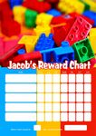 Personalised Lego Reward Chart (adding photo option available)